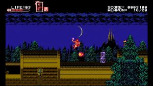 Скриншоты игры Bloodstained: Curse of the Moon