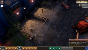 Скриншоты игры Encased: A Sci-Fi Post-Apocalyptic RPG