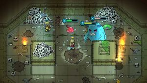 Скриншоты игры The Swords of Ditto